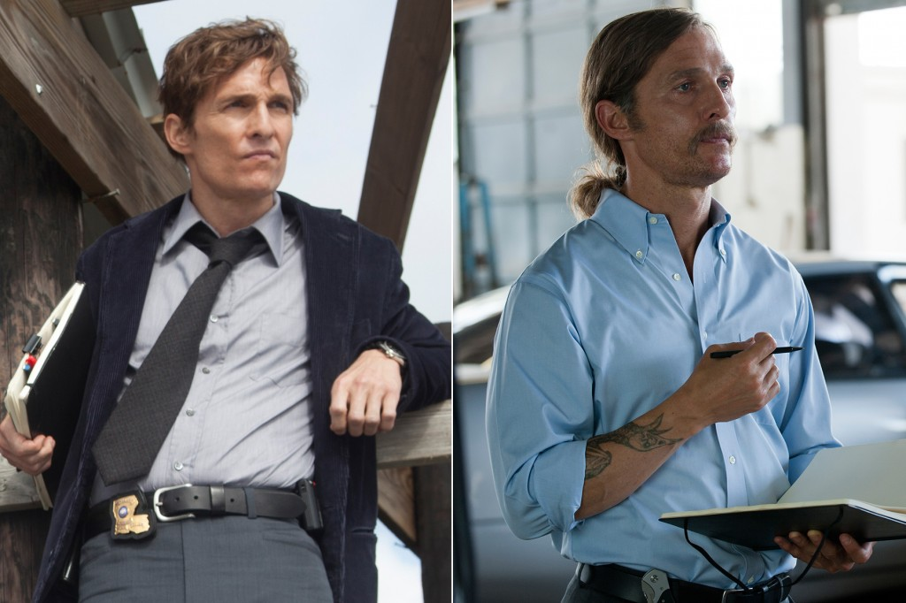 Matthew McConnaghey - Rust Cohle antes y despues
