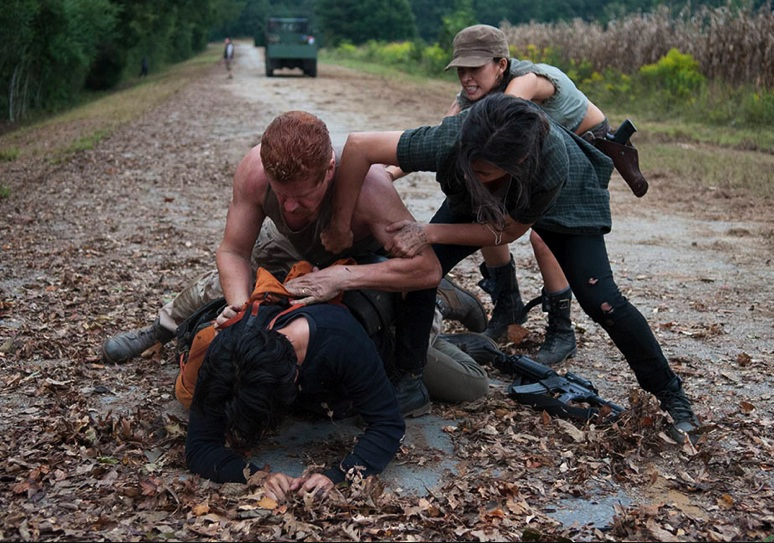 The Walking Dead: Tertulia zombie – S04E11: Claimed
