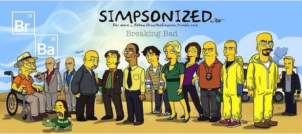 Breaking Bad vs Los Simpson