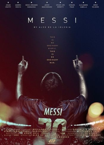 Poster oficial del documental sobre Leo Messi