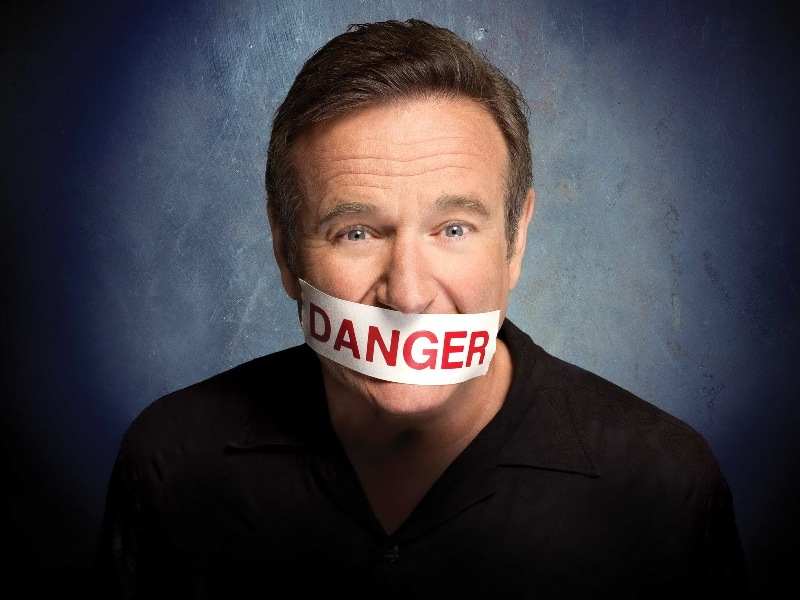 Robin Williams, una lengua peligrosa