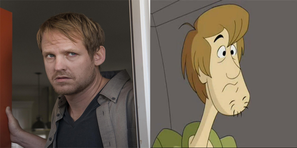 Pete as Shaggy