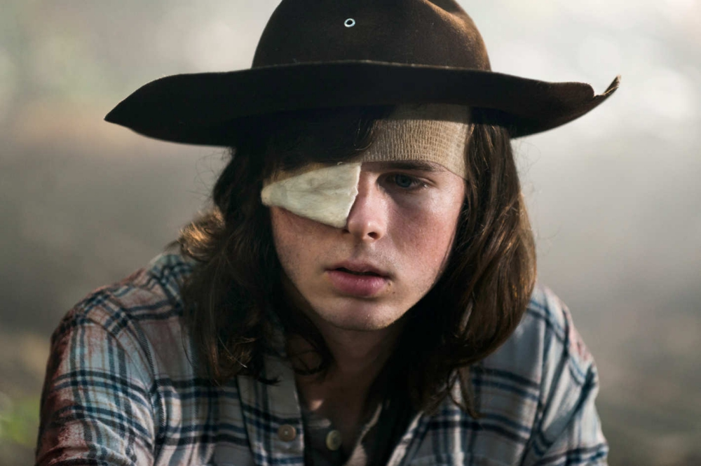 carl the walking dead 8x09