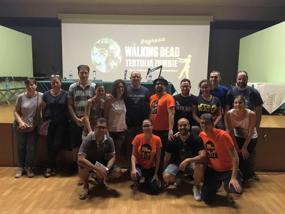 The Walking Dead Tertulia Zombie en directo en las FanCon 2016